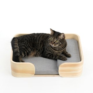 Pidan cat bed wooden cat litter