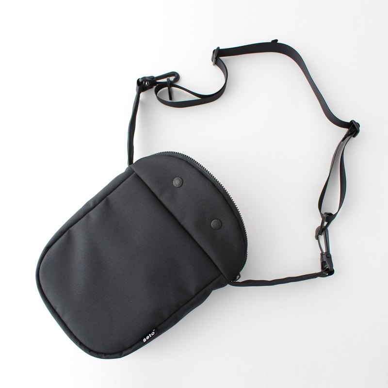 seto / creature bag / thick /  Large / Taiko-sagari / Black