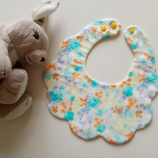 Japanese cotton gauze moon gift bib six-layer yarn eight-layer yarn double-sided available