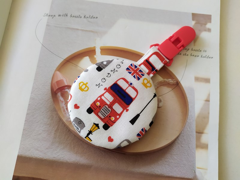 Double-decker Bus Round Safe Charm Bag Miyue Gift Safe Charm Bag Incense Bag