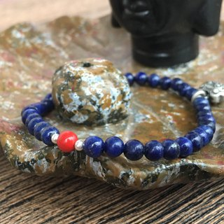 Lapis Lazuli Cigarette Bracelet Custom Plus Purchase