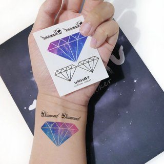 TU Tattoo Sticker - Sky Diamond Series / Tattoo / waterproof Tattoo / original / Tattoo Sticker