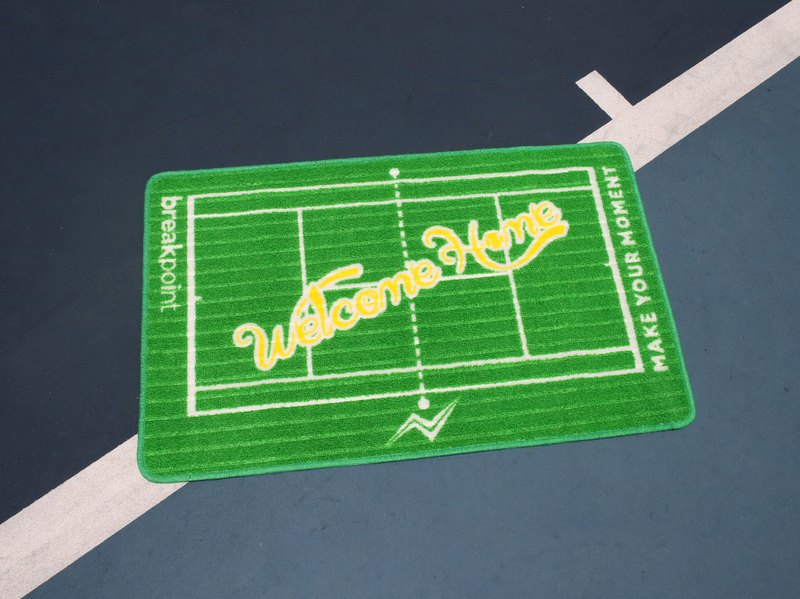 Breakpoint - tennis court mat