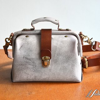 Fading Mist Leather Mini Doctor Bag