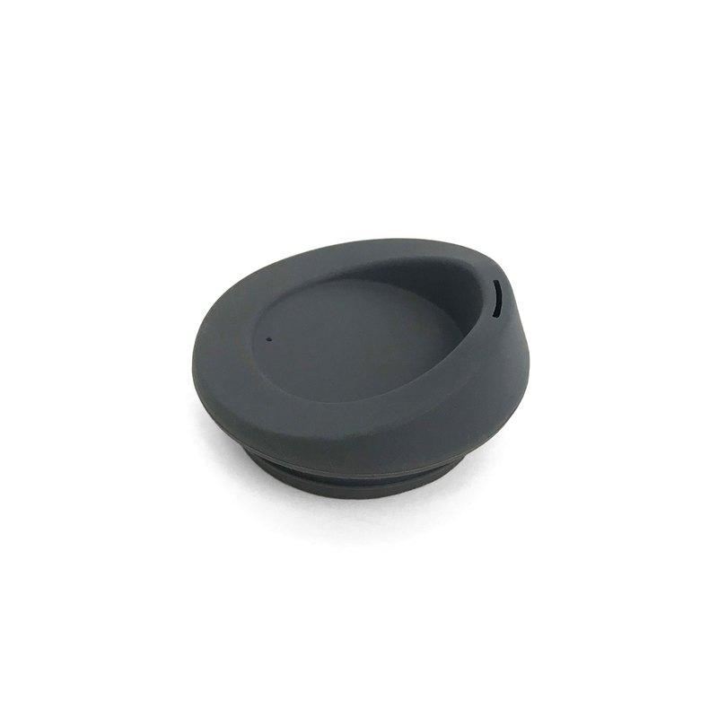 【美國GoSili/Silikids 鉑金矽膠】TOGO咖啡隨行杯蓋(鋼鐵灰)