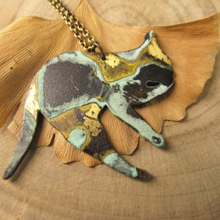 [Cats companionship - necklace]