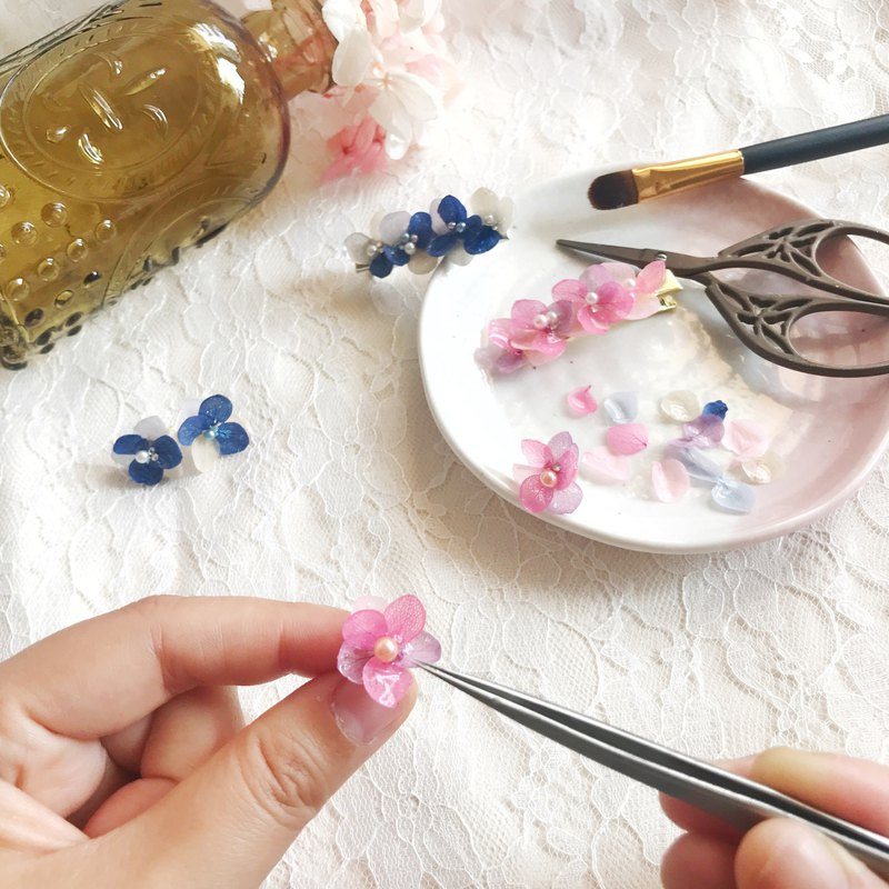 Three-dimensional real flower jewelry experience course @香港