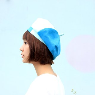 【The MAMA's Closet】Papillon( Light Green) / Beret