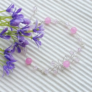 Fine Crafted Flower Bracelet
