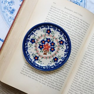 Poland Hand Painting Coaster (safflower classic)