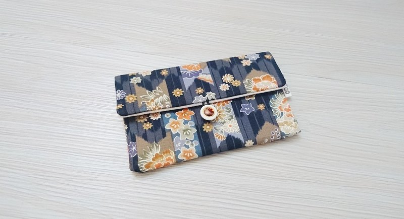 Pouch bag passport sets of health cotton bags pouch bag storage bag AS-70 nostalgic Japanese wind