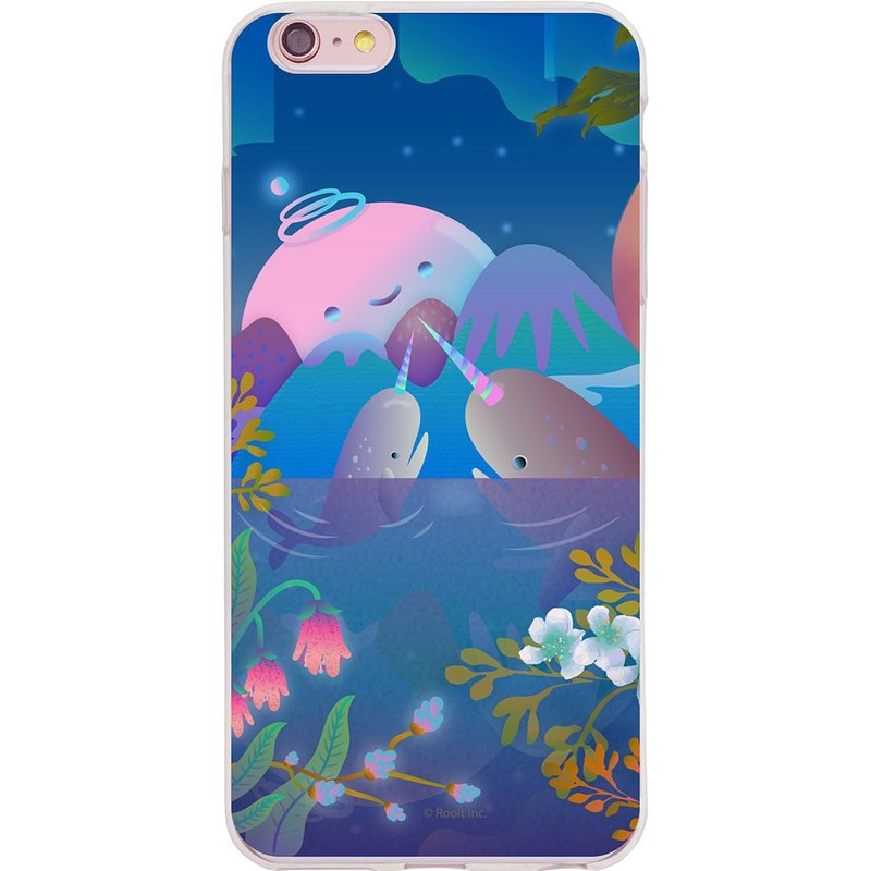 "New series - [night whale] - no personal star Roo-TPU phone case ""iPhone / Samsung / HTC / LG / Sony / millet / OPPO"", AA0BB08"