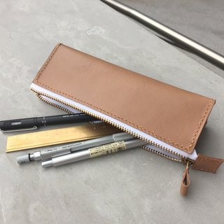 Cowhide leather stationery Pencil Pencil Case Pen holder
