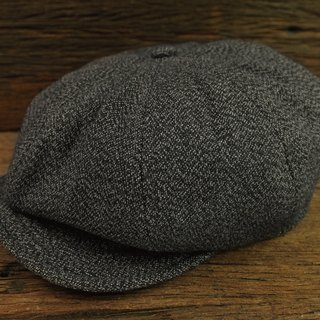 [METALIZE] Unique Texture Newsboy Cap TYPE-2 Vintage Snowflake Newsboy Cap TYPE-2