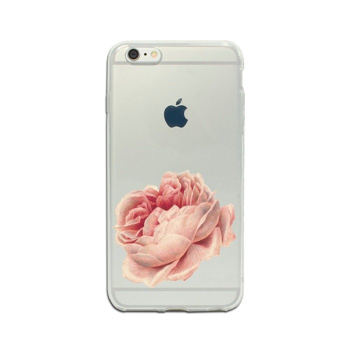 Clear iPhone case Samsung Galaxy case phone case rose 1219