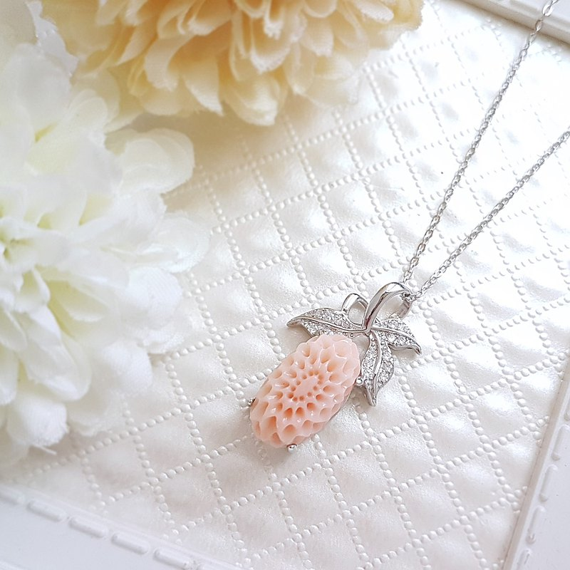 Belle Blossoming Angel Coral ANGEL SKIN 925 Silver Wing <only one>