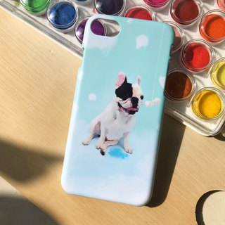 Dog and bone(baby green and blue). Matte Case (iPhone, HTC, Samsung, Sony)