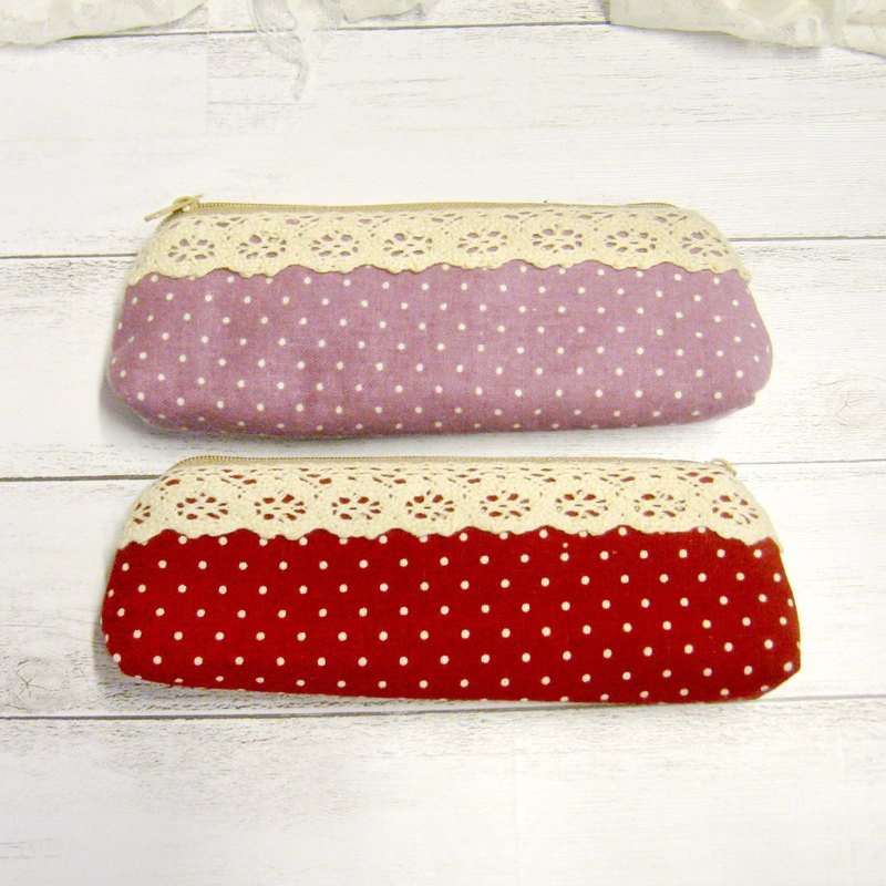 Small Zipper Pouch, Pencil Pouch,Glass bag (Pen-018)
