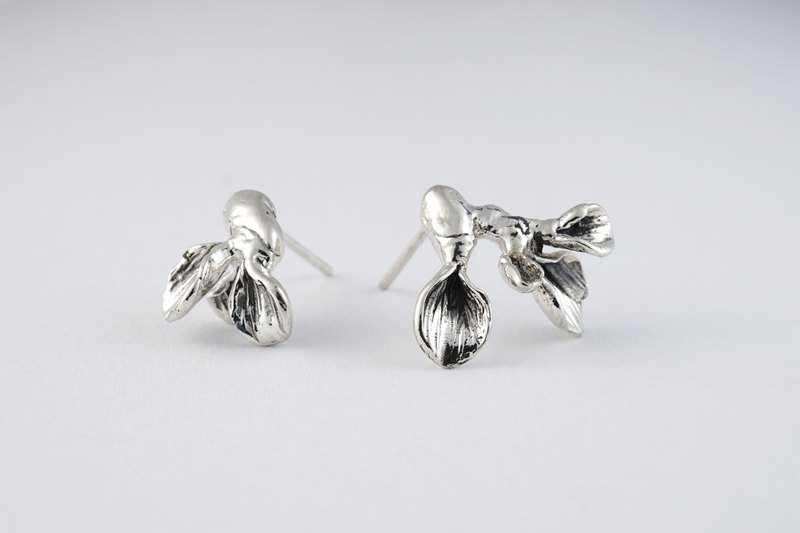 [Fleshy] Series - Yunye Meat, Sterling Silver Earrings