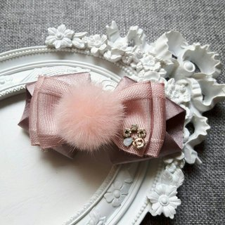 Sweet and elegant French spring hair clip / Korean powder