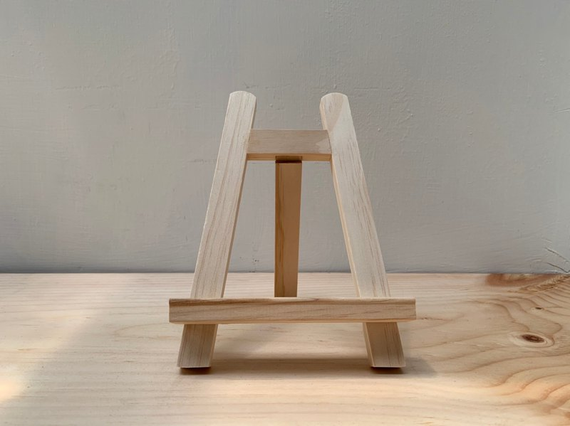 Stand small wooden stand / small easel can be used with beautiful light box