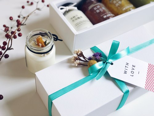 [cross-border joint name] jam × scented candle gift box - sweet orange