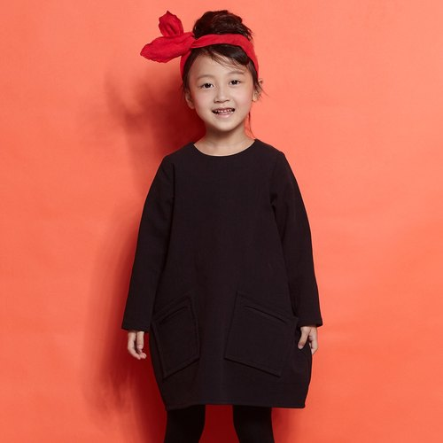 Ángeles - Shape Pocket Check Dress (7-10Y)