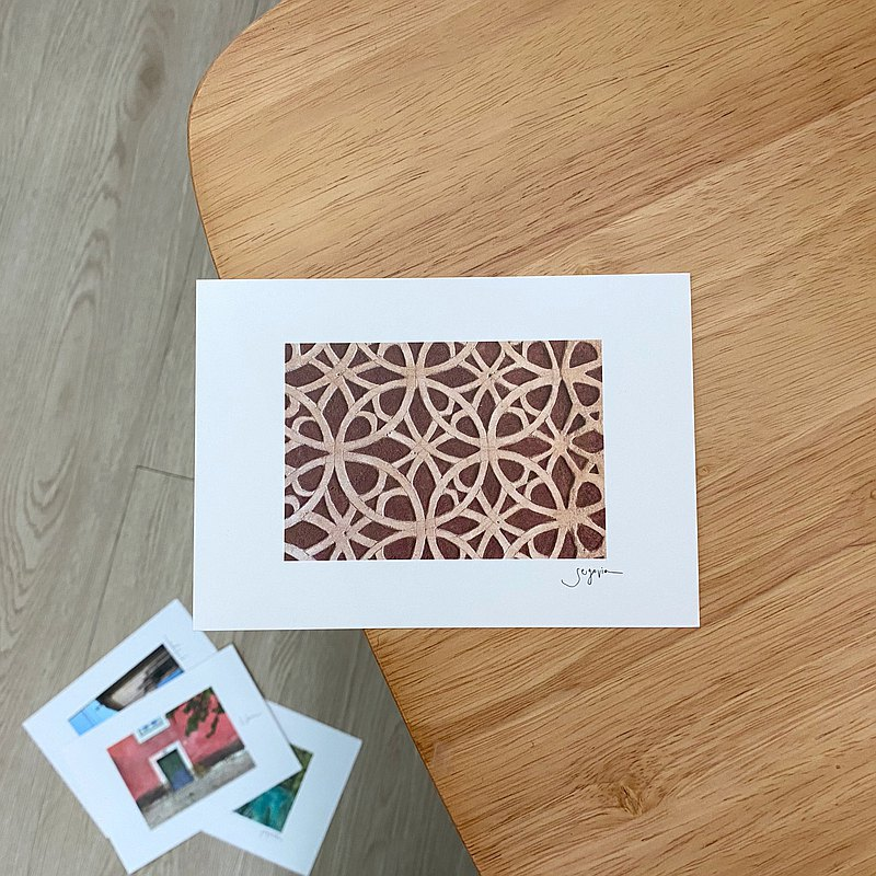 Hola Segovia || Postcard Universal Card Card Room Decoration