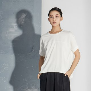 【In stock】White silhouetted top