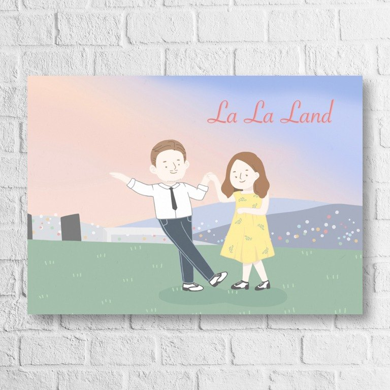 Universal card - movie - Lalaland