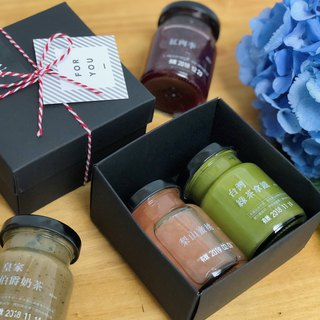 Fruit man │ peach peach limited jam gift box [two into] Mid-Autumn Festival gift box teacher's day gift box