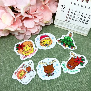 KaaLeo Christmas Stickers