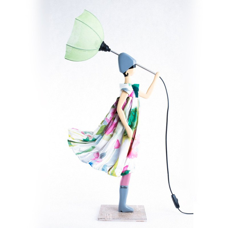 Wind Little Girl Fashionable Lamp Rovena Custom-made Custom-made