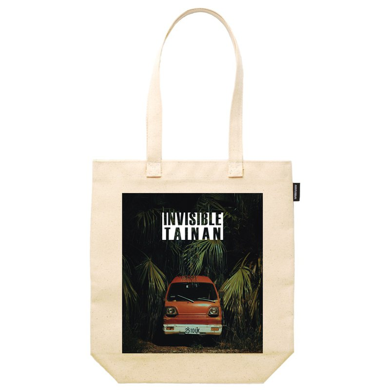 Invisible Tainan synthetic canvas tote bag
