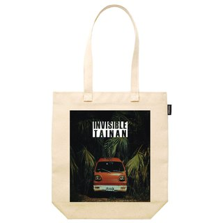 Invisible Tainan synthetic canvas tote bag invisible Tainan scenery