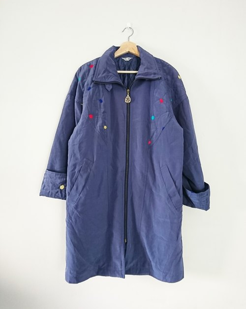 [Zi Bing rainbow] vintage - long coat
