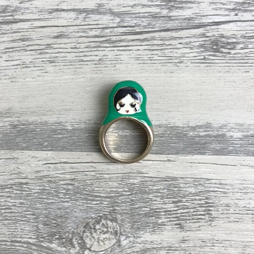 Russian doll vintage antique ring BHA116 (has been ordered not to order)