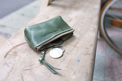 Finger purse Colro: retro green