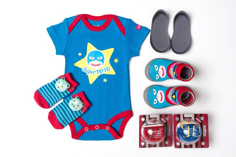 Happy Superman gift set (packed fart clothes)