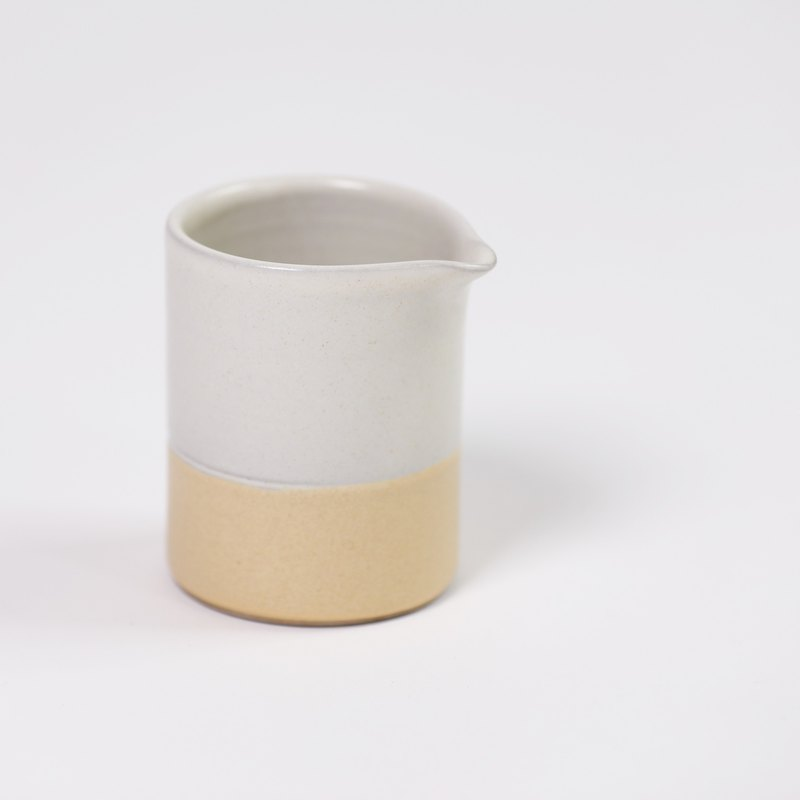 small milk pot-white-fair trade