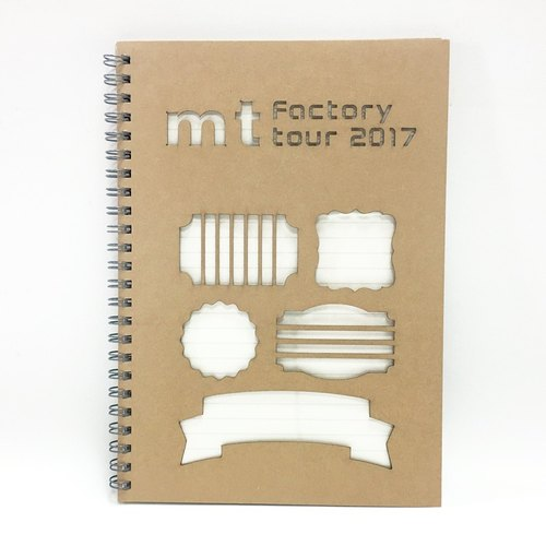 mt factory tour vol.6 Notebook【Tags】Limited Edition
