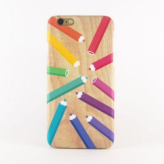 Pencil Color iPhone case