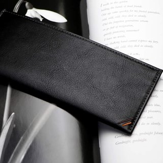 革職人 LEATHER FACTORY【DUALLINE Slim Long Wallet】Made in Japan