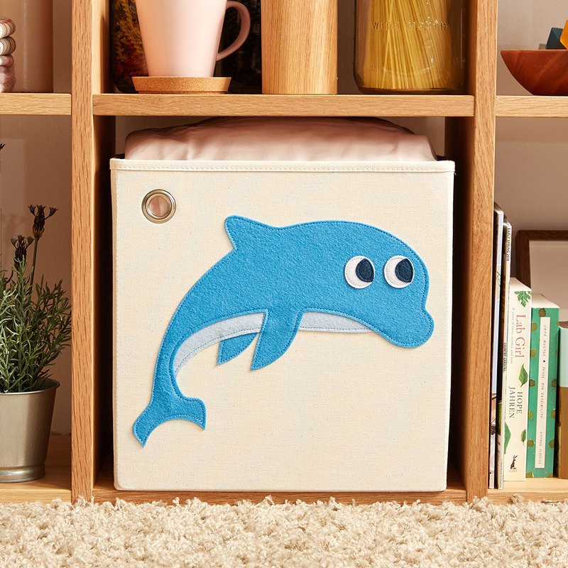 Jumping Dolphin - Toy Storage Box