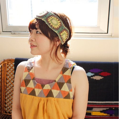 ☆ Hammock ☆ 彡 Hammock Flower Crochet Handmade Hair Band