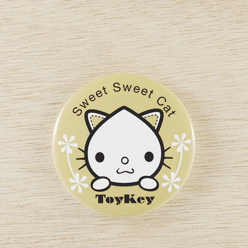 ToyKey toys ► Sweet Sweet Bear Shui cat badge 10 ◄