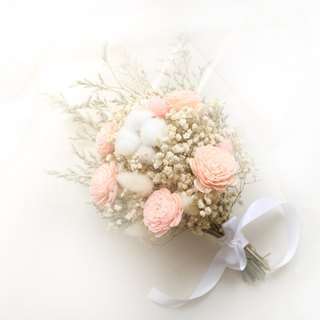 Sweet gypsophila bouquet