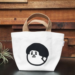 Canvas lunch bag / tote bag - Jie Tai