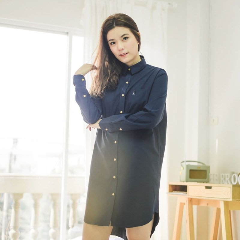 PENGUIN // navy // women dress