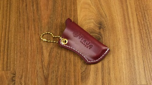 Leather Wrapping Case US W & C Ran Gu (Burgundy Red)